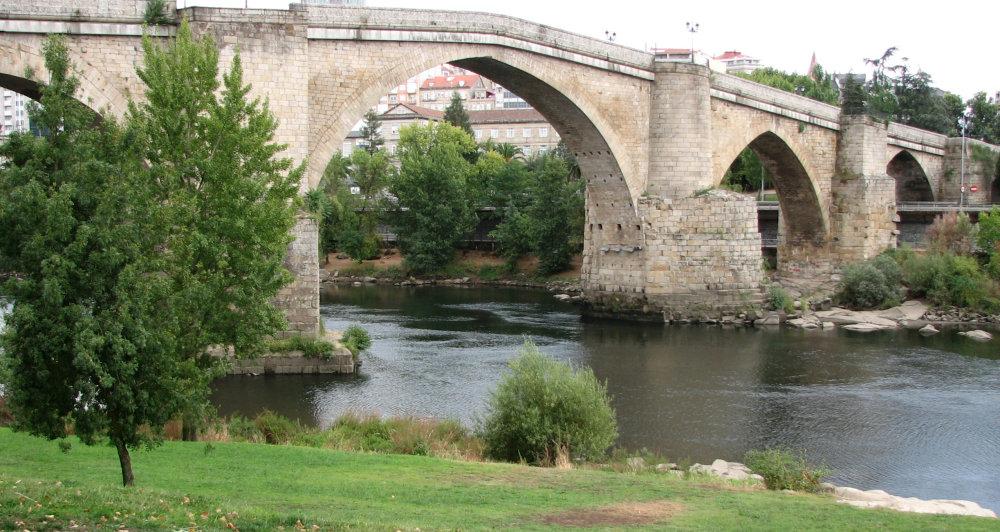 Ourense's Old Bridge